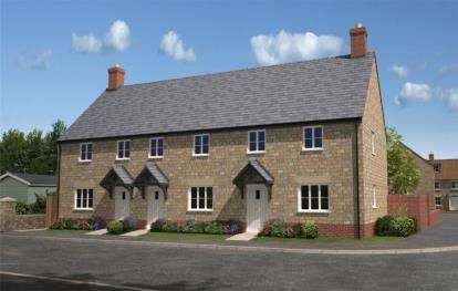 2 Bedrooms End Of Terrace House for sale in Martock, Somerset