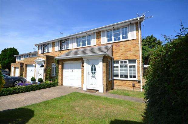 3 Bedrooms Semi Detached House for sale in Rye Close, Maidenhead, Berkshire