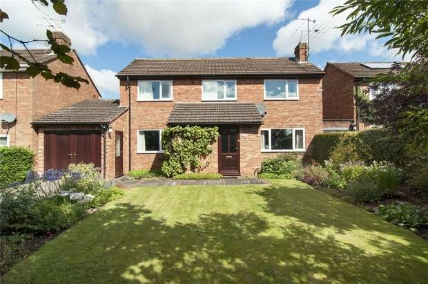 3 Bedrooms Detached House for sale in 2 Poyner Road, Ludlow, Shropshire