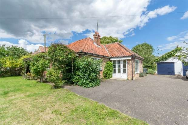 3 Bedrooms Detached Bungalow for sale in Gillets, Hindolveston
