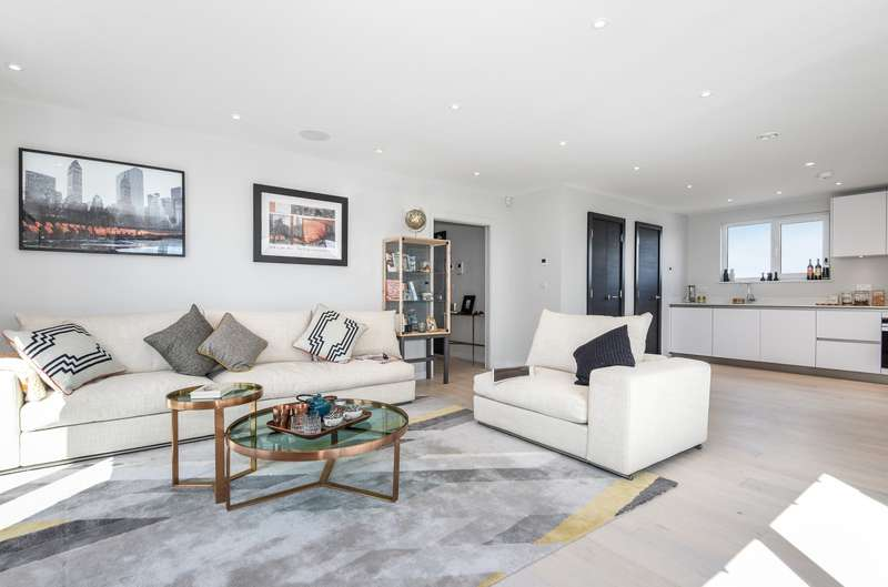 2 Bedrooms Penthouse Flat for sale in Haydon Park Road, Wimbledon, SW19