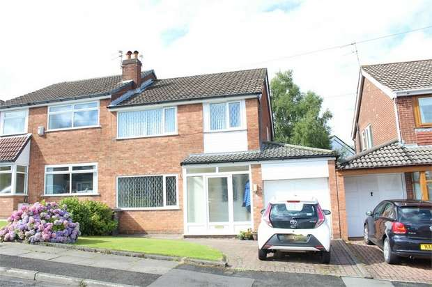 3 Bedrooms Semi Detached House for sale in Linksway Drive, Bury, Lancashire