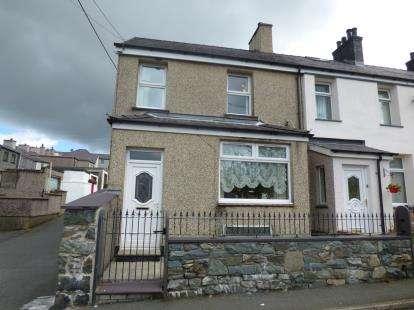 2 Bedrooms End Of Terrace House for sale in Caradog Place, Deiniolen, Caernarfon, Gwynedd, LL55