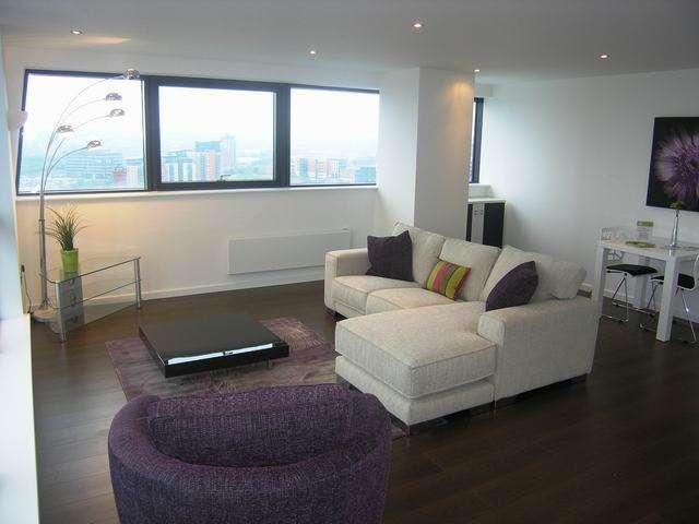 2 Bedrooms Flat for rent in Bridgewater Place, Water Lane, Leeds, LS11 5QT