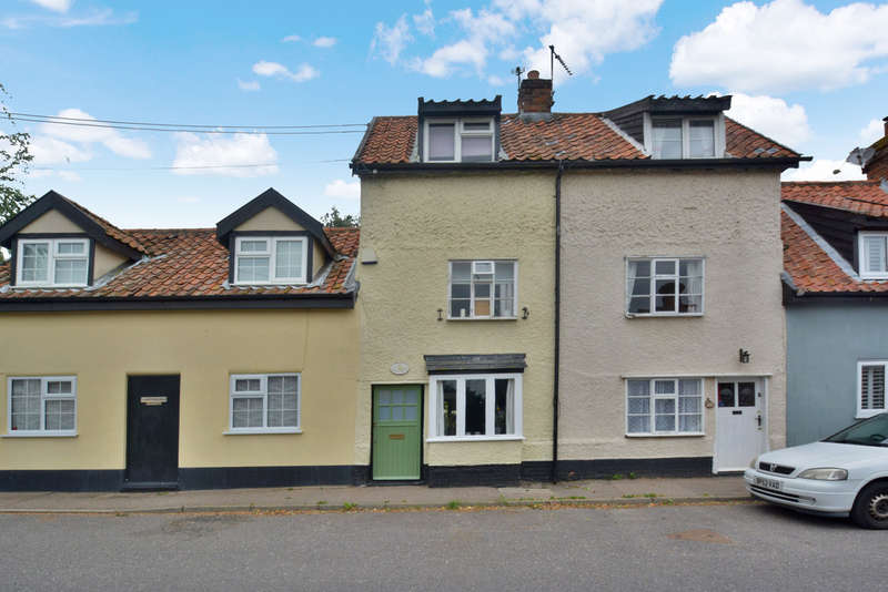 2 Bedrooms Terraced House for sale in The Street, Metfield