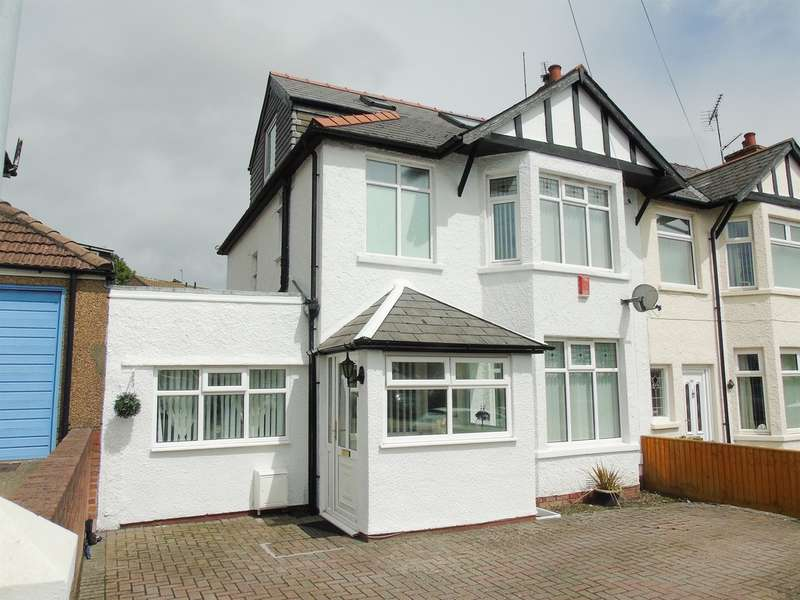 4 Bedrooms Semi Detached House for sale in Redlands Road, Penarth