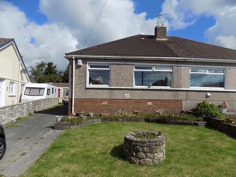 3 Bedrooms Semi Detached Bungalow for sale in Burns Crescent, Cefn Glas, Bridgend. CF31 4PY