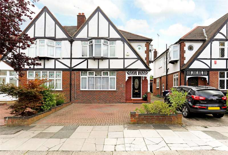 4 Bedrooms Semi Detached House for sale in Lynwood Road, Ealing, W5