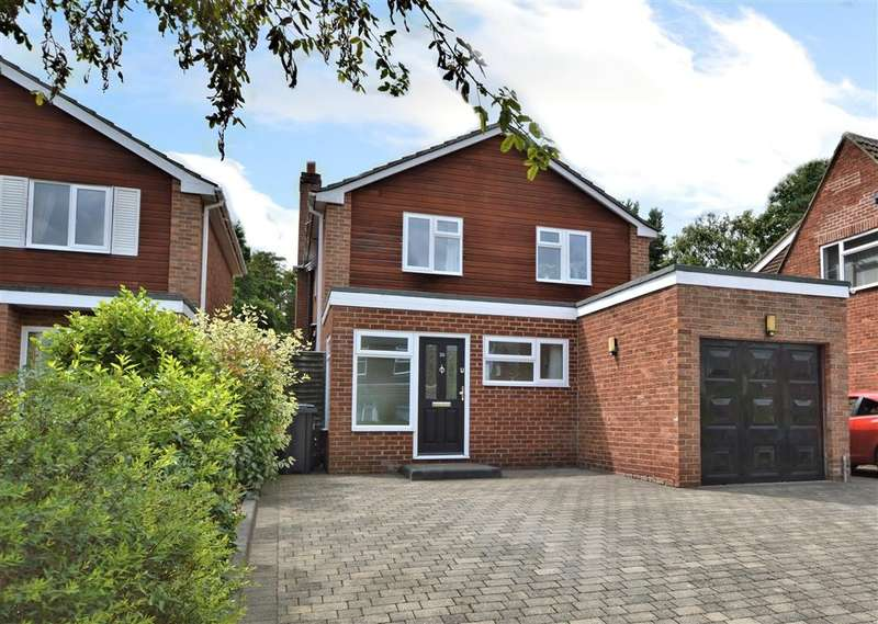 4 Bedrooms Detached House for sale in Pine Ridge Road, Burghfield Common, Reading, RG7