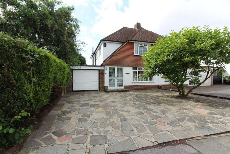 4 Bedrooms Semi Detached House for sale in Tintagel Road, Orpington, Kent, BR5 4LQ