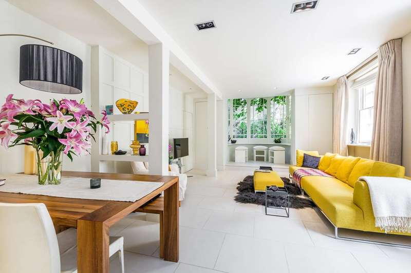 3 Bedrooms Maisonette Flat for sale in Royal Crescent, Holland Park, W11