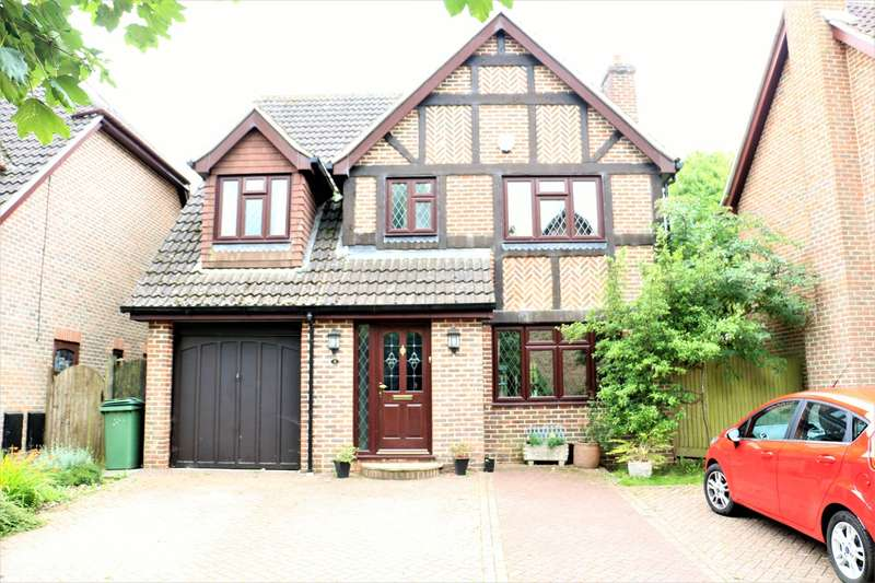 4 Bedrooms Detached House for sale in Petworth Close, Basingstoke, RG22
