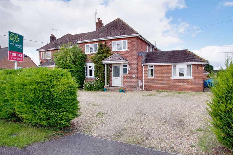 5 Bedrooms Semi Detached House for sale in Barrow Hill, Andover