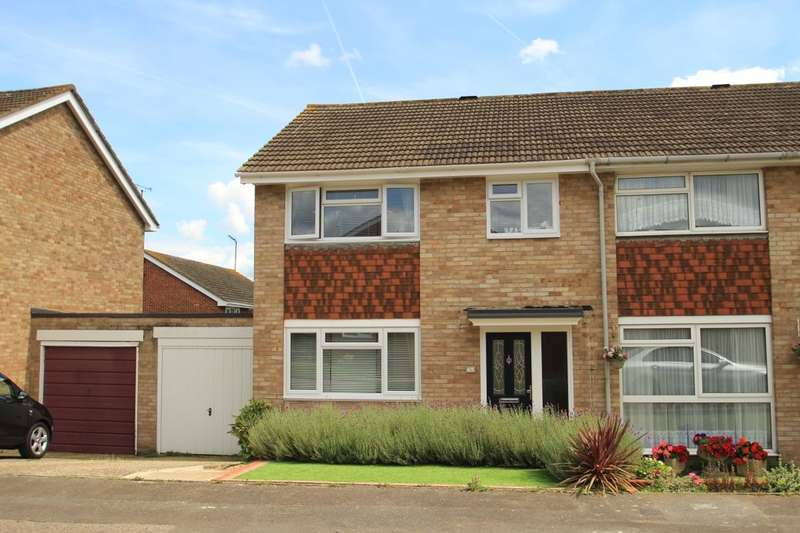 3 Bedrooms Semi Detached House for sale in Dahlia Drive, Swanley, BR8