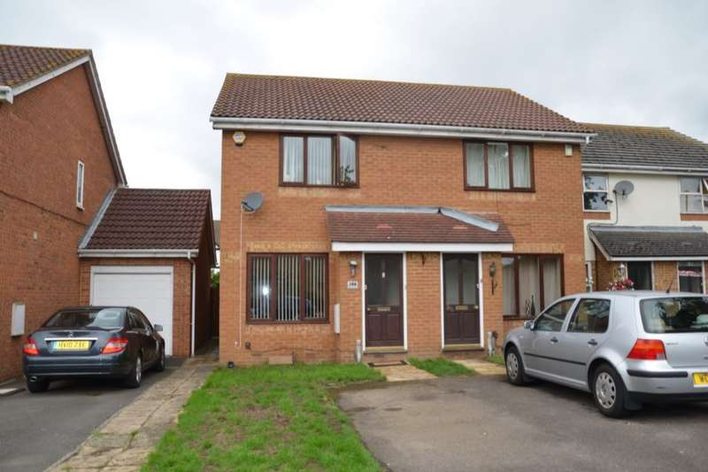 2 Bedrooms Semi Detached House for sale in Westmacott Drive, Feltham, TW14