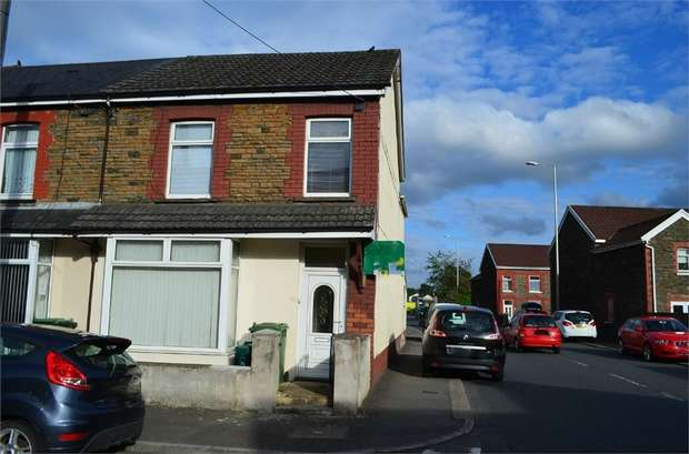 4 Bedrooms End Of Terrace House for sale in Tudor Street, Rhydyfelin, Pontypridd, Mid Glamorgan
