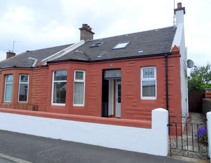 4 Bedrooms Semi Detached Bungalow for sale in Falkland Road, Ayr, KA8