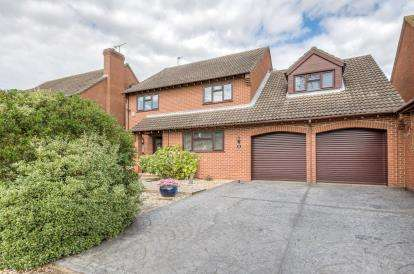 5 Bedrooms Detached House for sale in Glenrose Avenue, Ravensden, Bedford, Bedfordshire