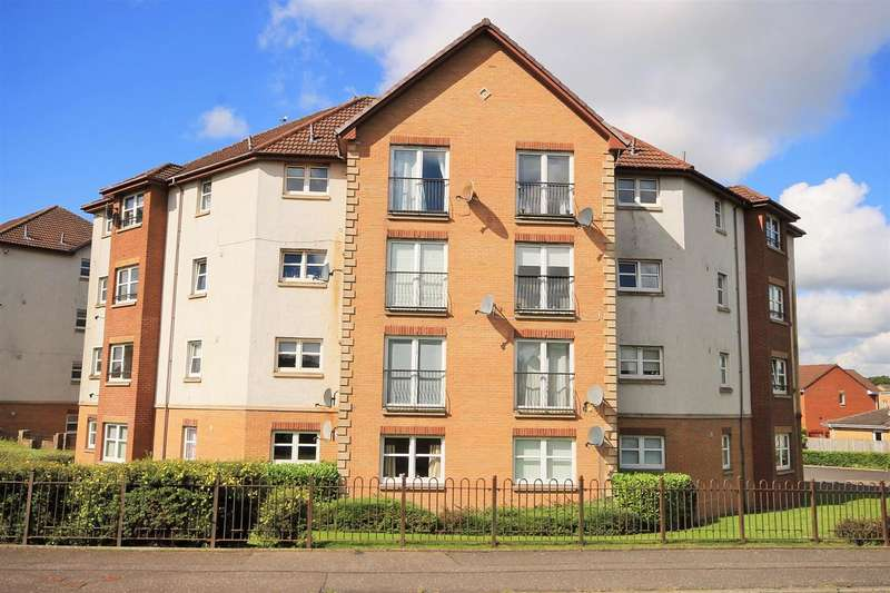 2 Bedrooms Flat for sale in Lochranza Court, Motherwell
