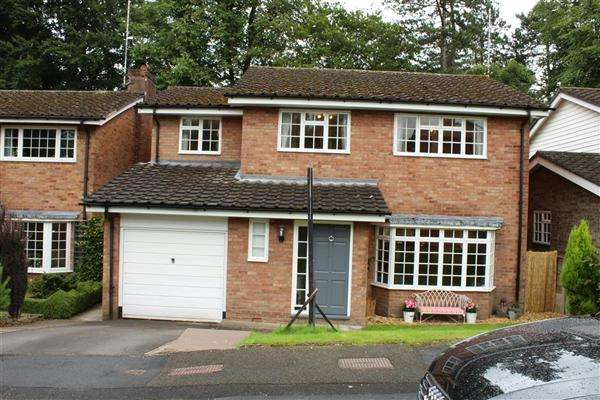 4 Bedrooms Detached House for sale in Birch Avenue, Macclesfield