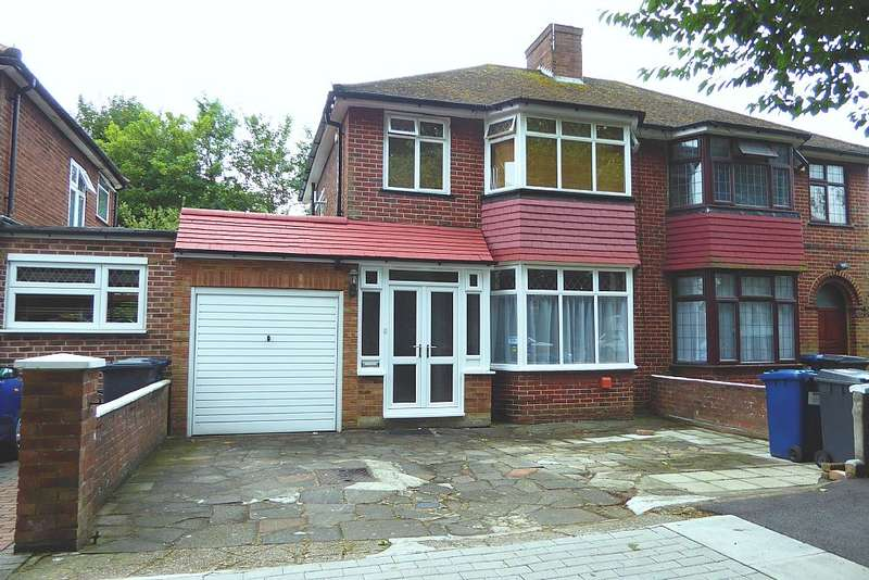 3 Bedrooms Semi Detached House for sale in Booth Road, Burnt Oak, London, NW9