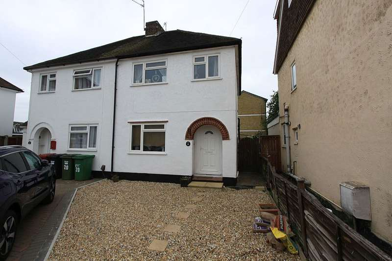 3 Bedrooms Semi Detached House for sale in Charter Road, Slough, Berkshire, SL1 5JE