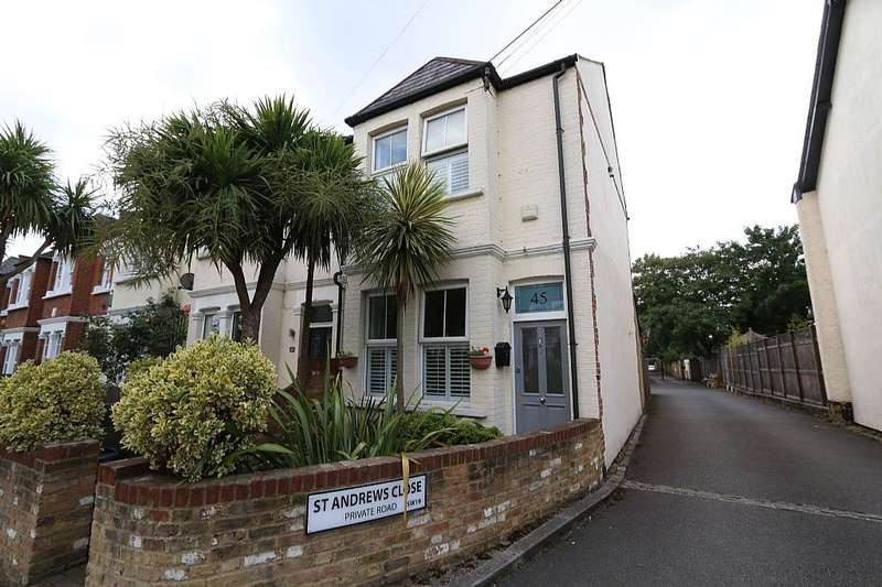 2 Bedrooms End Of Terrace House for sale in Evelyn Road, Wimbledon, London, SW19