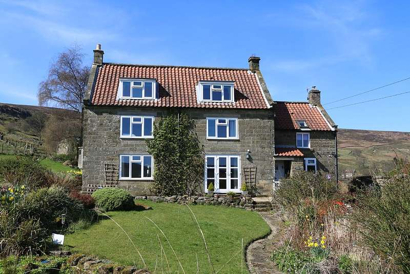 4 Bedrooms Farm House Character Property for sale in Medds Farm House & Cottage, Rosedale near Pickering, North Yorkshire, YO18 8SQ