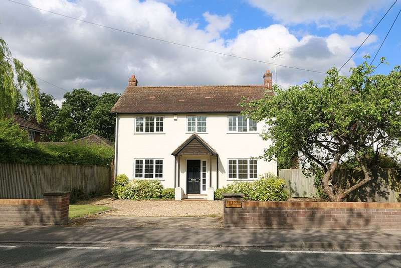 4 Bedrooms Detached House for sale in Treetop House, Basingstoke Road, Swallowfield, Reading, Berkshire, RG7 1PY