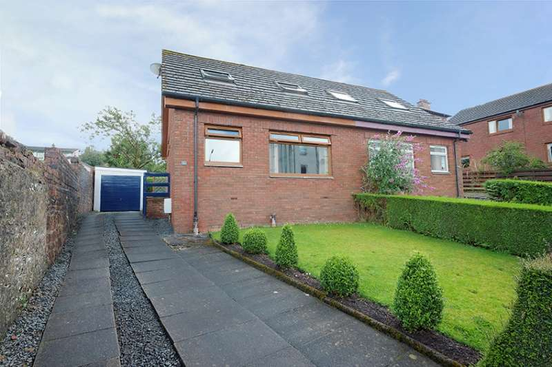 3 Bedrooms Semi Detached Bungalow for sale in Innes Park Road, Skelmorlie, North Ayrshire, PA17 5BA