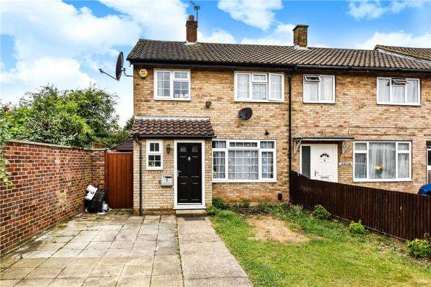 3 Bedrooms End Of Terrace House for sale in Marescroft Road, Slough