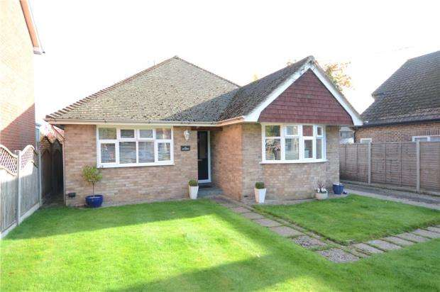 3 Bedrooms Detached Bungalow for sale in Albion Road, Sandhurst, Berkshire