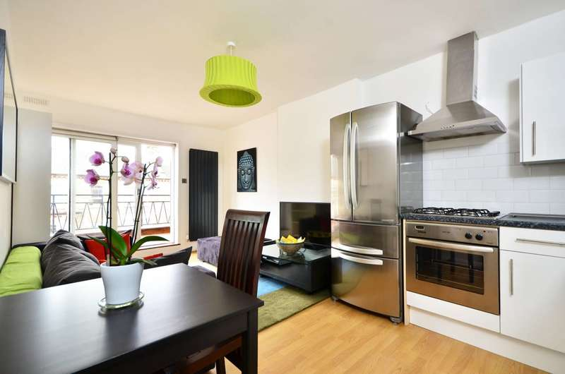 2 Bedrooms Flat for sale in Severus Road, Clapham Junction, SW11
