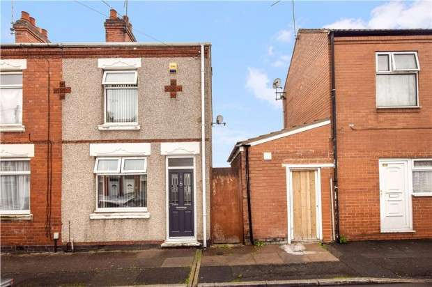 2 Bedrooms End Of Terrace House for sale in St. Thomas Road, Coventry, CV6