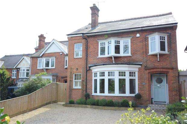 4 Bedrooms Detached House for sale in Priest Hill, Caversham, Reading