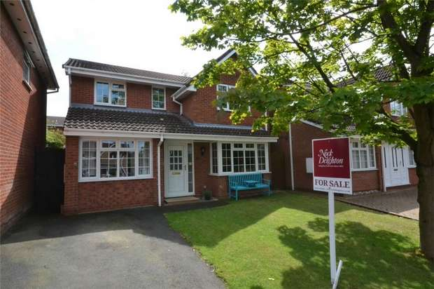 4 Bedrooms Detached House for sale in 3 Barberry Close, The Rock, Telford, Shropshire