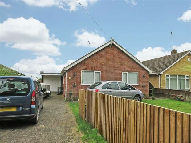 3 Bedrooms Detached Bungalow for sale in Church Lane, Moulton, Spalding, Lincolnshire