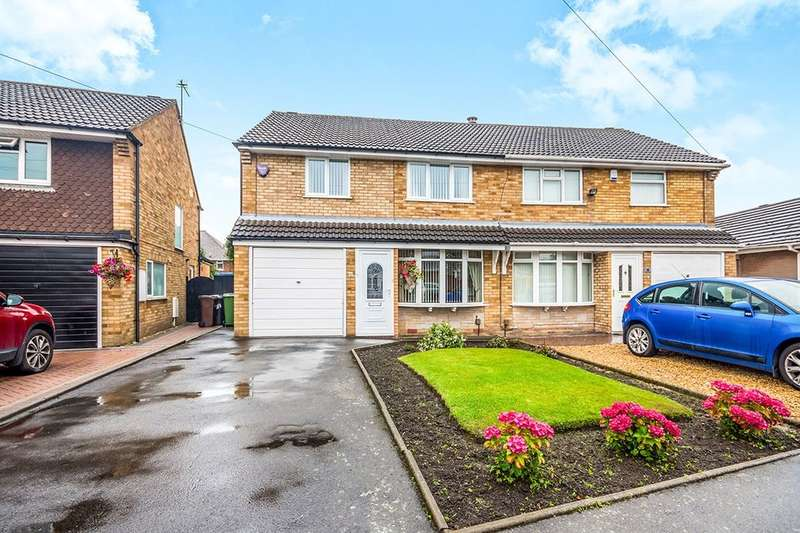 3 Bedrooms Semi Detached House for sale in Robin Grove, Wolverhampton, WV11