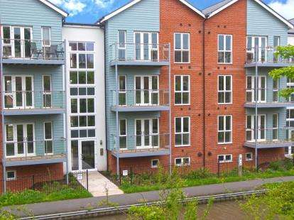 2 Bedrooms Flat for sale in The Lane, St George's Lane, Worcester