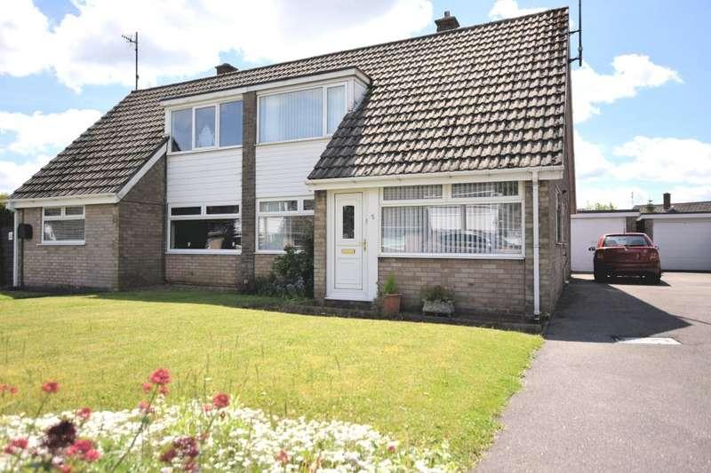 4 Bedrooms Semi Detached Bungalow for sale in Byward Drive, Crossgates, Scarborough, North Yorkshire YO12 4JE