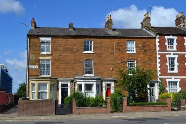 4 Bedrooms Town House for sale in Leicester Terrace, Barrack Road, Northampton NN2 6AJ