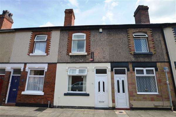 2 Bedrooms Terraced House for sale in Yeaman Street, Stoke, Stoke-On-Trent