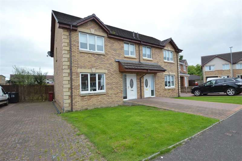 3 Bedrooms Semi Detached House for sale in St Nininans Place, Stonehouse