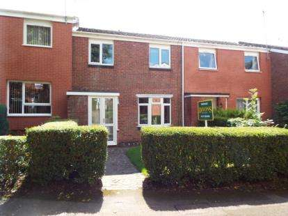 3 Bedrooms Terraced House for sale in Quibury Close, Redditch, Worcestershire
