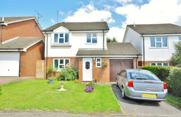 3 Bedrooms Detached House for sale in Notton Way, Lower Earley, Reading