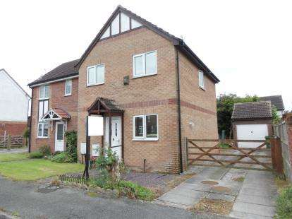3 Bedrooms Semi Detached House for sale in Edenfield Close, Mobberley, Cheshire