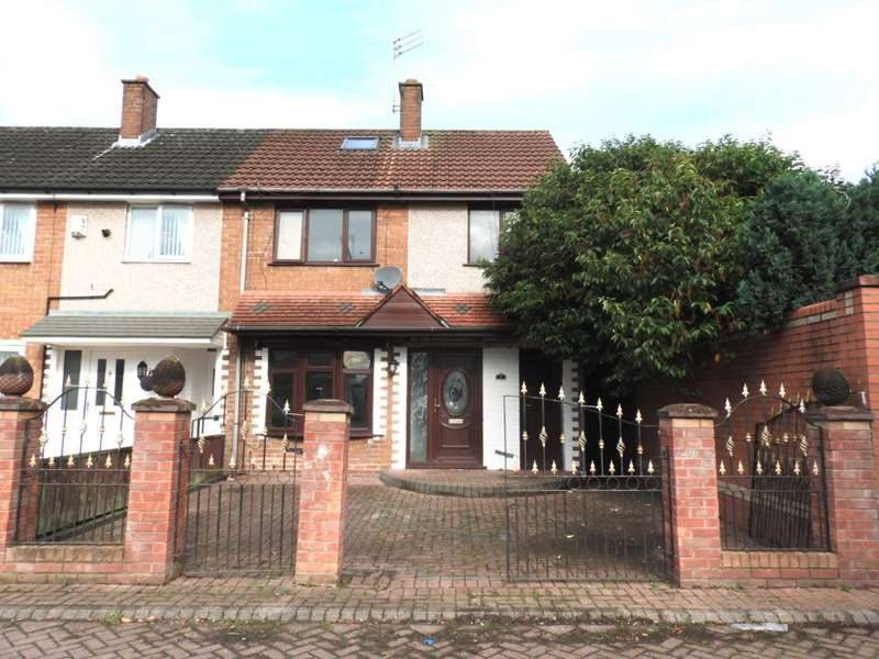 3 Bedrooms End Of Terrace House for sale in Wickett Close, Liverpool