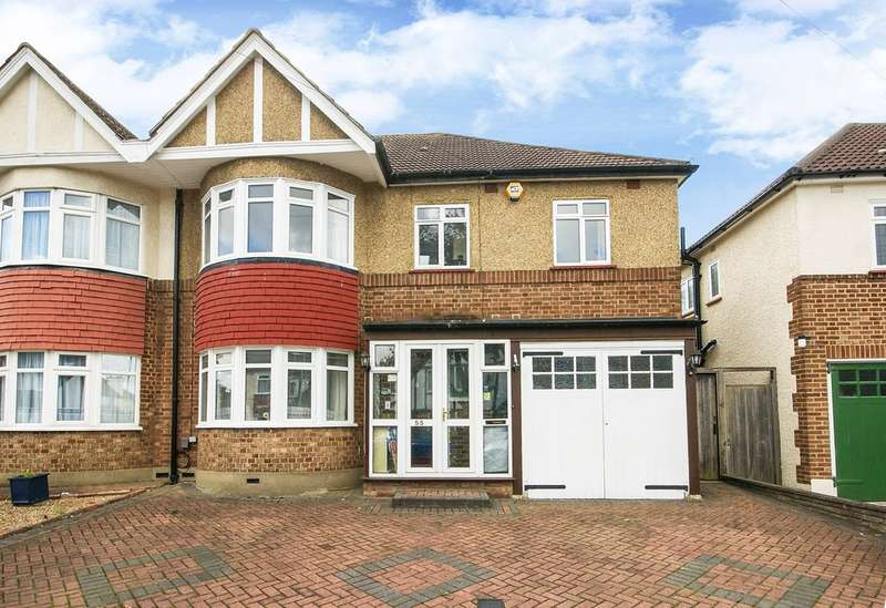 5 Bedrooms Semi Detached House for sale in Brook Drive, North Harrow