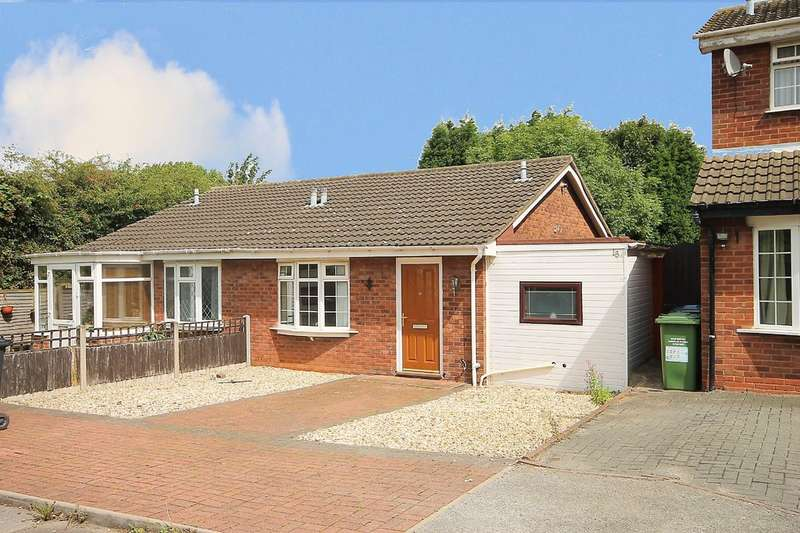 2 Bedrooms Semi Detached Bungalow for sale in Torside, Wilnecote, Tamworth, B77 4NH