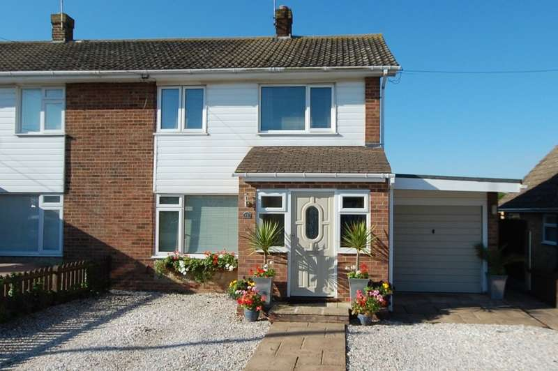 3 Bedrooms Semi Detached House for sale in Hazlemere Road, Seasalter, Whitstable